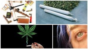 Признаки курения конопли