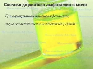 амфетамин в моче